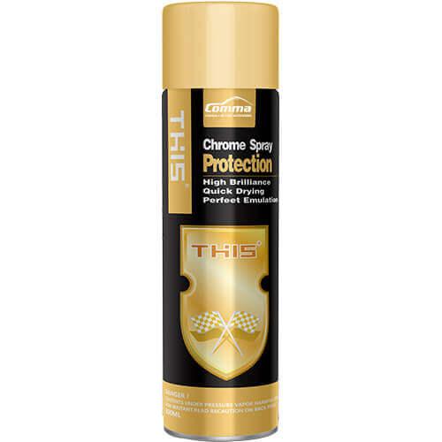 gold chrome spray paint | Comma