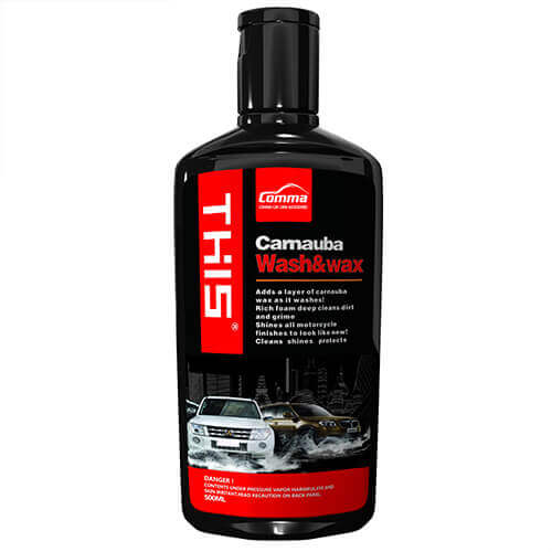 Car Shampoo Camauba Wash & Wax